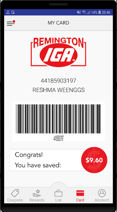 Download Our App! | Remington IGA